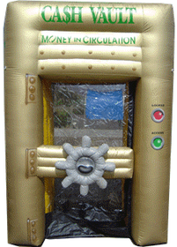 Inflatable Money Machine