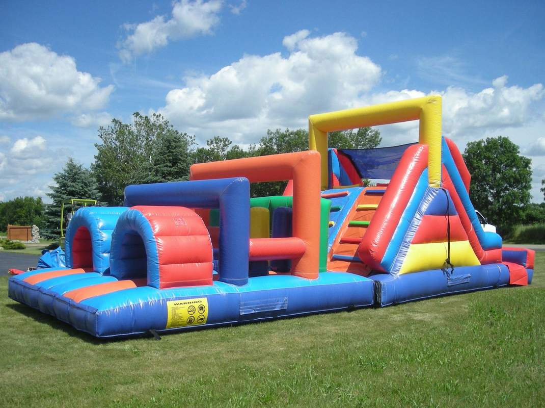 40 foot inflatable obstacle course