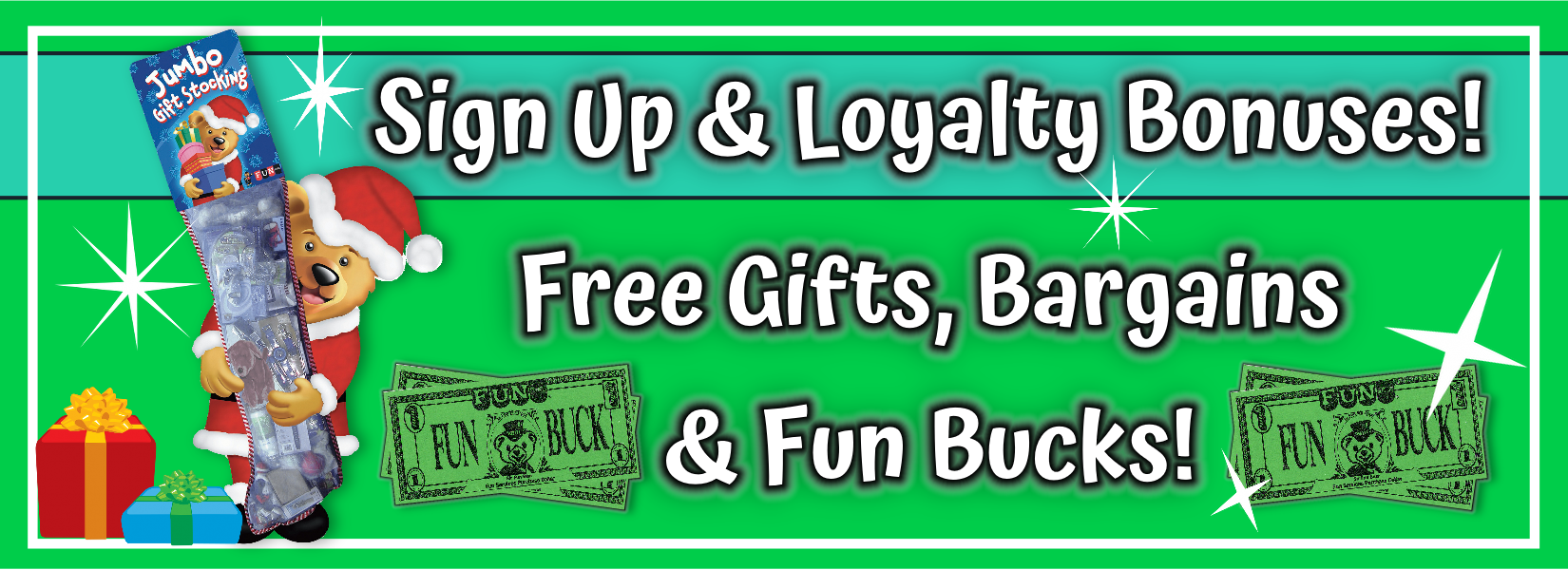 Sign Up Loyalty Bonus Free Gifts Bargains