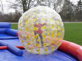 Inflatable Zorb Balls Track